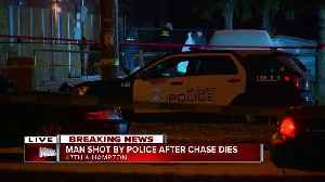 Man shot by police after chase on north side dies [Video]