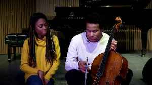 Goals and focus don't change for Royal wedding cellist [Video]