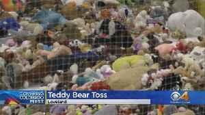 Teddy Bears Rain Down Onto Colorado Eagles Ice Rink [Video]