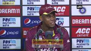 Ind vs WI Nice to have Pollard around, says Hetmyer after his blistering knock [Video]