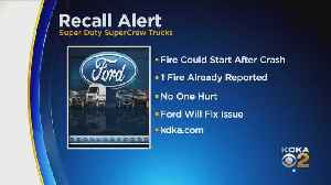 Ford Recalling Trucks For Fire Risk [Video]
