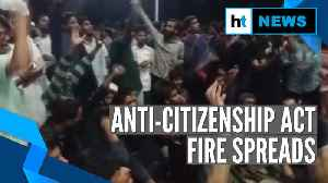 News video: Watch: Protest against Citizenship Act in Maulana Azad University, Hyderabad