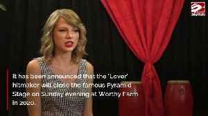 News video: Taylor Swift wird Glastonbury-Headliner!