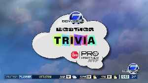 Weather trivia: Most snowy Christmases [Video]