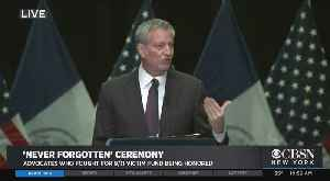 Mayor Presents NY's Bronze Medallion To Champions Of 9/11 Victim Compensation Fund [Video]