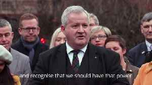 Ian Blackford: Scotland has spoken on second independence referendum [Video]