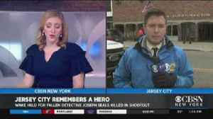 Wake For Fallen Jersey City Detective [Video]