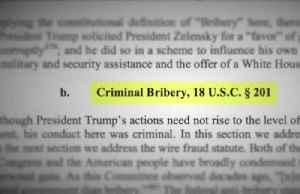 House impeachment report accuses Trump of 'criminal bribery' [Video]