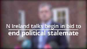 Talks begin to end political stalemate in NIreland [Video]