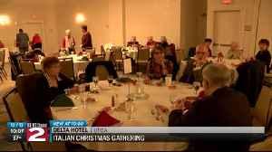 Italian Christmas Gathering held in Utica [Video]