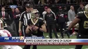Saints scoreboard watching on Sunday, face Colts on MNF [Video]