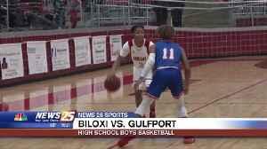 High School Boys Basketball: Biloxi vs. Gulfport [Video]