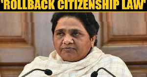 News video: Mayawati calls Citizenship law unconstitutional, demands rollback | OneIndia News