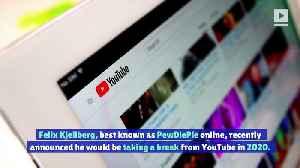 PewDiePie Announces Break From YouTube [Video]