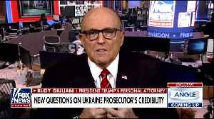 Rudy Giuliani says he forced out Marie Yovanovitch because she's corrupt [Video]