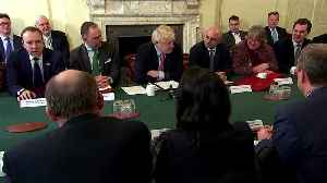 UK PM Johnson opens first cabinet meeting [Video]