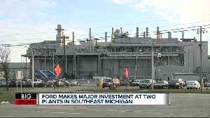 Ford to invest $1.45 billion, add 3,000 jobs at 2 metro Detroit plants [Video]