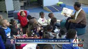 Snow days can place burden on parents looking for child care [Video]