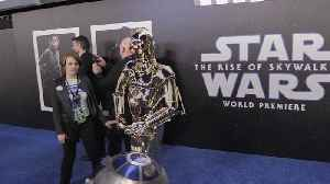 News video: Stars tease the end of the Skywalker saga at Star Wars premiere