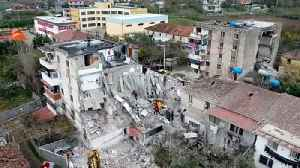 Albania arrests nine people over deaths in collapsed buildings after the earthquake [Video]