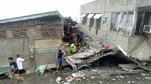 Philippines hunts for survivors after powerful quake kills at least three [Video]