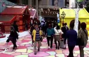 We'll 'celebrate later': Christmas cards for HK protesters [Video]