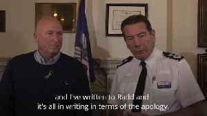 Police chief in written apology to Dunn family after communication 'breakdown' [Video]
