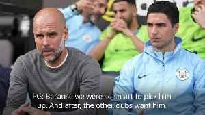 Pep Guardiola coy over Mikel Arteta's potential Arsenal move [Video]