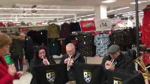 Moment Nicola Sturgeon stopped her weekly shop in Asda to conduct a brass band [Video]