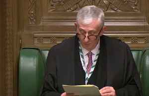 UK parliament Speaker Hoyle re-elected [Video]