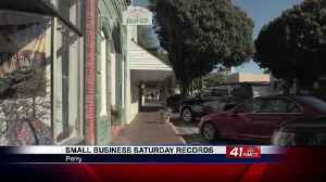 Perry businesses break records on Small Business Saturday [Video]
