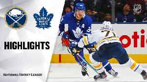 NHL Highlights | Sabres @ Maple Leafs 12/17/19 [Video]