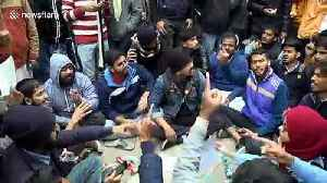 Protests over citizenship law continue in the Indian capital [Video]