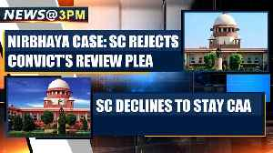 SC rejects gangrape convict's review petition, confirms death penalty and more news| OneInida News [Video]