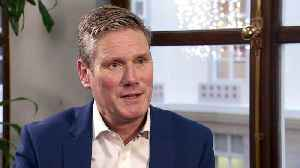 News video: Starmer says he is considering running for Labour leader