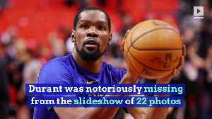 Kevin Durant Left Out of Warriors' 'Franchise of the Decade' Tribute [Video]