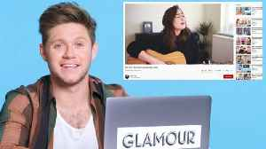 Niall Horan Watches Fan Covers on YouTube [Video]
