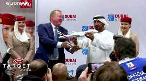Dubai Air Show: Sky's no longer the limit as UAE reaches for the stars [Video]
