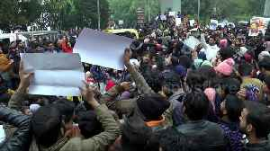 News video: Protests over citizenship law continue in the Indian capital