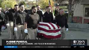Funeral Service Held For Bounty Hunter, Former Marine Killed While Confronting Alleged Fugitive [Video]