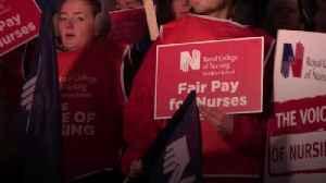 Nurses in Northern Ireland go on 12-hour strike [Video]