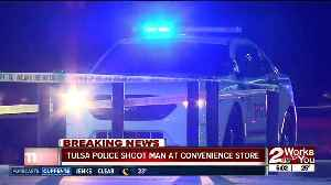 Armed man shot by police officers inside west Tulsa QT [Video]