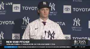 NY Yankees Introduce 29-Year-Old Star Pitcher Gerrit Cole [Video]