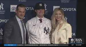 Gerrit Cole Introduced As New Star Pitcher For NY Yankees [Video]
