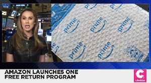 Amazon to Offer a One Free Return Program [Video]