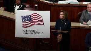 News video: Pelosi: Trump 'gave us no choice' on impeachment