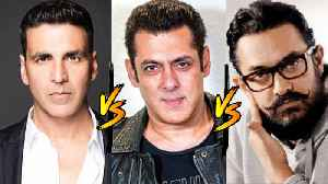 Akshay Kumar REACTS To His BIG CLASH With Salman Khan And Aamir Khan [Video]