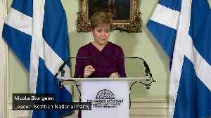 Nicola Sturgeon calls for transfer of powers for 'IndyRef2' [Video]
