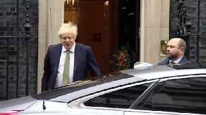 PM leaves Downing Street for 2nd Queen's Speech of the year [Video]