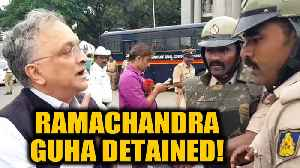 News video: Ramachandra Guha detained in Bengaluru while participating in a protest against CAA | OneIndia News